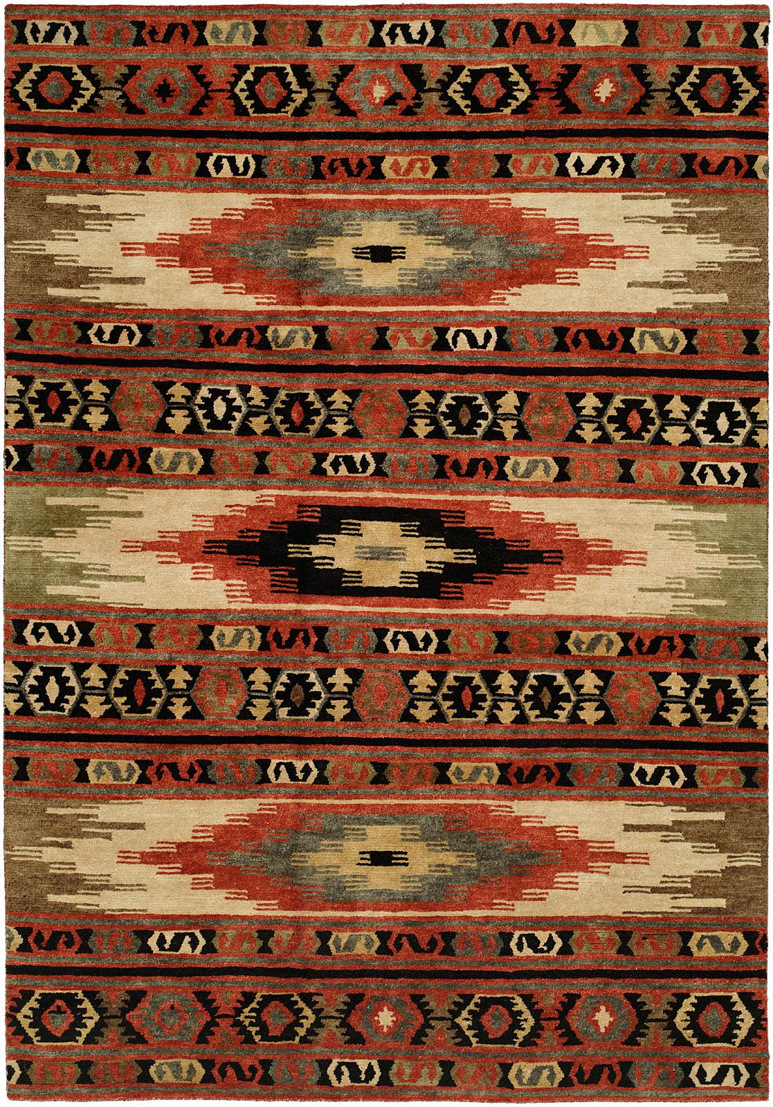 area decorators p rugs x home red aztec ft rug collection southwestern